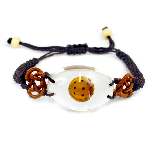 REALBUG Lady Bug Bracelet, Clear