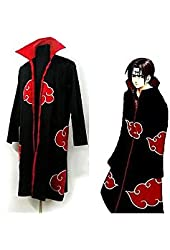 COOLOUT Japanese Anime Costumes Cosplay Costumes Naruto Ninja Uniform / Cloak Size Xl