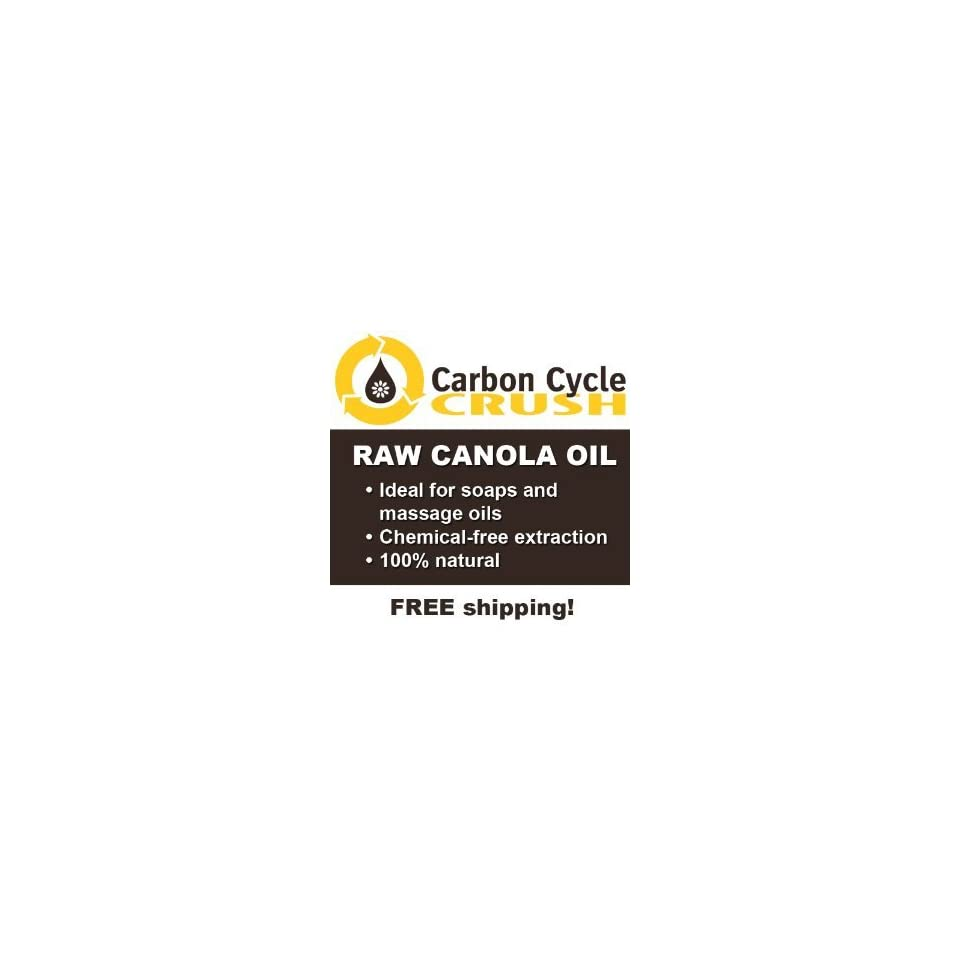 3 Gallons Expeller Pressed Canola Oil   Perfect for replacing Olive oil in soap making and massage oils