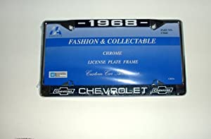 1968 Chevrolet License Plate Frame