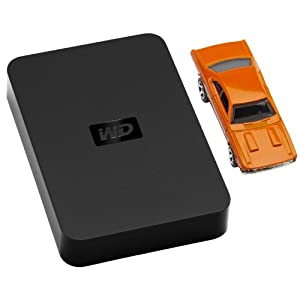 Western Digital WDBABV5000ABK Elements portable 500GB externe Festplatte (6,4 cm (2,5 Zoll), 5400rpm, ms, 8MB Cache, USB) schwarz