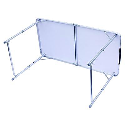Klapptisch Campingtisch klappbarer Bestelltisch faltbarer Tisch Falttisch Gartentisch 120x60cm von Goods & Gadgets bei Gartenmöbel von Du und Dein Garten
