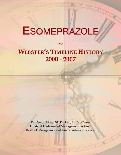 Esomeprazole: Webster's Timeline History, 2000 - 2007