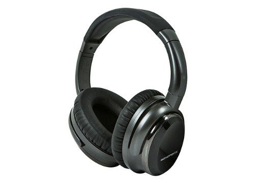 Monoprice 110010 Noise Cancelling Headphone With Active Noise Reduction Technology - Retail Packaging