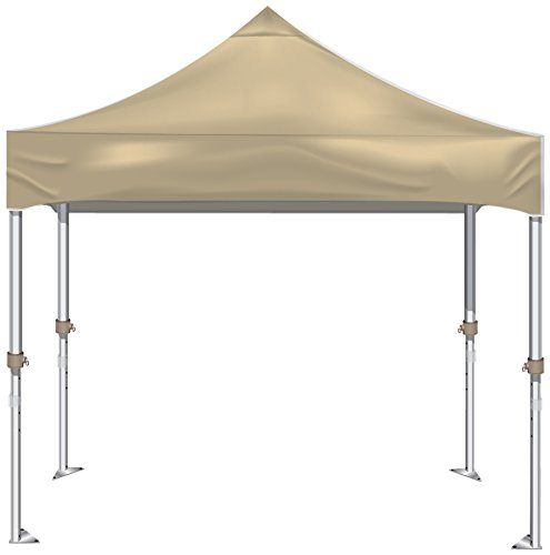 Kd Kanopy Xtf100C Xtf Aluminum Frame Indoor/Outdoor Portable Canopy, 10 By 10-Feet, Cream