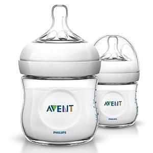 Philips AVENT SCF690/17 125 ml Natural Newborn Feeding Bottle (Pack of 1)