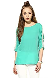 Raindrops Women's Top(1167A003C-Green-M)