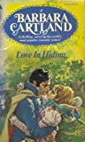 love in Hiding (0515041114) by Cartland, Barbara