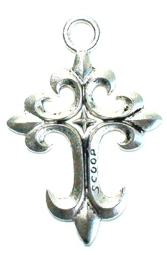 Silver Tone Cross Pendant Spiritual Religious Jewelry Collection