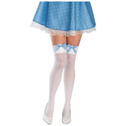 Dorothy Thigh High Stockings Costume Accessory - Standard - Dress Size 10-12