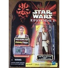 STAR WARS E1- OBI-WAN KENOBI(NABOO) with LIGHTSABER and HANDLE COMMTECH [Toy]