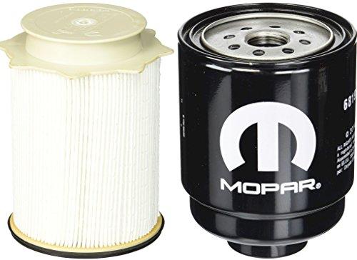 Dodge Ram 6.7 Liter Diesel Fuel Filter Water Separator Set Mopar OEM (Cummins Turbo Diesel Engine compare prices)