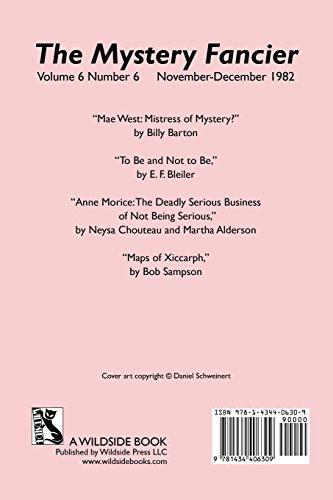 The Mystery Fancier (Vol. 6 No. 6) November/December 1982