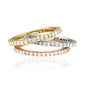 14k Yellow Gold Diamond Eternity Band Ring (GH, SI3-I1, 0.50 carat)