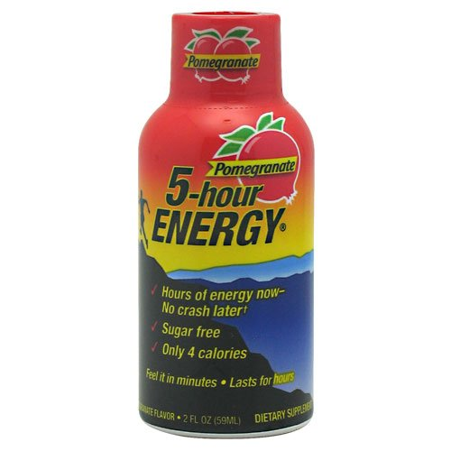 5-Hour Energy, Pomegranate, 12 Shots, 2Oz. From Living Essentials