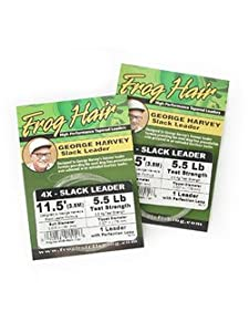 Gamma George Harvey Slack Leader 5x Frog Hair