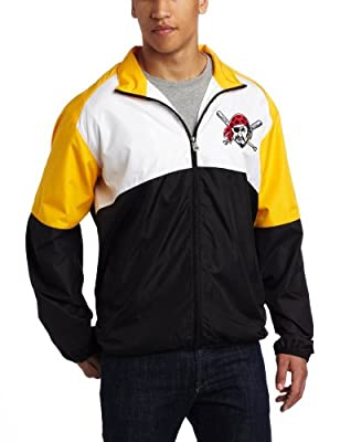 MLB Pittsburgh Pirates Sports Night Lightweight Full Zip Jacket