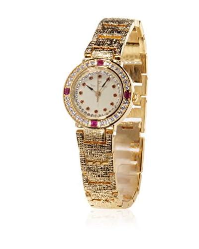Yves Camani Reloj de cuarzo Lady Metal Dorado 35 mm