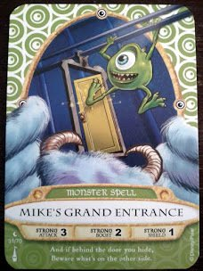 Sorcerers Mask of the Magic Kingdom Game, Walt Disney World - Card #31 - Mike's Grand Entrance - 1