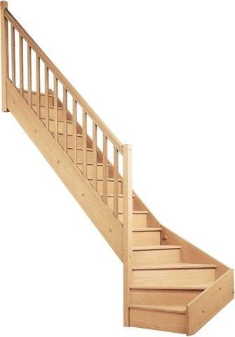 geschosstreppe 1 4 gewendelt raumspartreppe treppe holztreppe. Black Bedroom Furniture Sets. Home Design Ideas