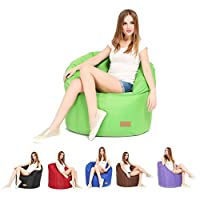 Puregadgets© Pumpkin Giant Beanbag Cushion Chair Seat Indoor Outdoor Relax Garden Living Room Latest Version Bean Bag As Seen on TV and Big Brother by VIVO