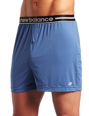 New Balance Men's Extreme Performance Boxer Short, Federal Blue, Large