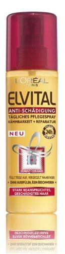 L'Oral Paris Elvital Haarpflege Pflegespray Antischaedigung, 200 ml