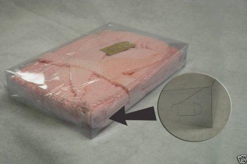 "24 Set 17X11X2-1/2"" Plastic Telescope Box Clothes Apparel Packing"