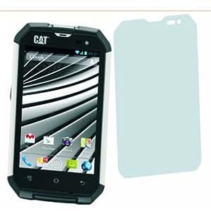 4 x Entspiegelnde Displayschutzfolie Bildschirmschutzfolie von 4ProTec für Cat Phone B15 - Nahezu blendfreie Antireflexfolie