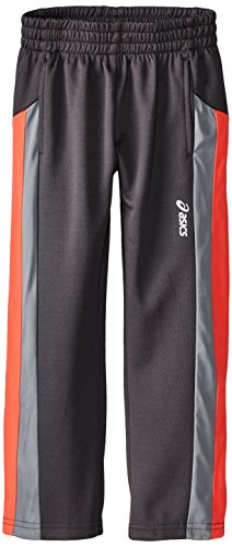 ASICS Little Boys' Momentum Pant, Dark Grey, 5/6