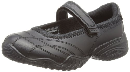 Skechers - Ballerine, Bambina, Nero (Black), 38 EU