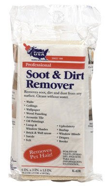 Soot & Dirt Remover Sponge (K-42R) (Dry Clean Supplies compare prices)