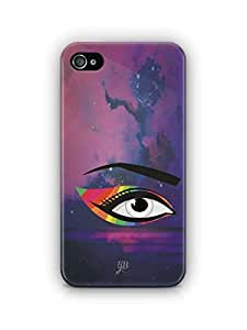 YuBingo Colourful Eye Mobile Case Back Cover for Apple iPhone 4S