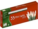 35-Count Clear Christmas Light Set