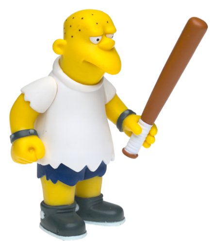 The Simpsons Series 8 Action Figure Kearney