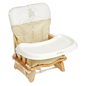 When did you stop using highchair space saver booster