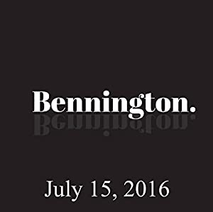 Bennington, Rob Sheffield, July 15, 2016 Radio/TV Program
