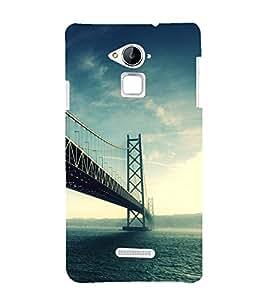 Fuson Premium Back Case Cover London Bridge With Multi Background Degined For Coolpad Note 3
