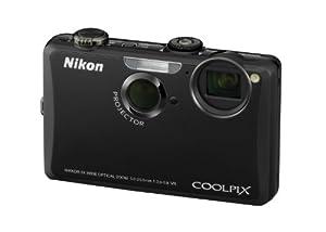 Nikon Coolpix S1100PJ Digitalkamera (integrierter LED-Projektor, 14 Megapixel, 5-fach opt. Zoom, 7,5 cm (3 Zoll) Display, HD-Videofunktion) schwarz