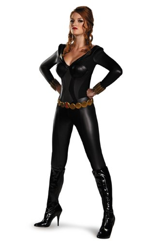 Black Widow Bustier Costume