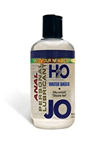 System Jo Anal H2O Lubricant, 8-Ounce Bottle