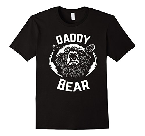 Men's PAPA Bear shirt father's day new papa t-shirt Daddy tee Large Black (Daddy Bear Shirt compare prices)