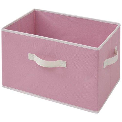 山善(YAMAZEN) どこでも収納ボックス(3個セット) ピンク YTCF3P(PI)