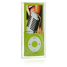 iPod Nano Clear Crystal Transparent Case Package for Apple 4th Generation 4G 4 GB 8 GB 16 GB 16GB