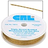 CRL Triple Strand Braided Windshield Cut-Out Wire