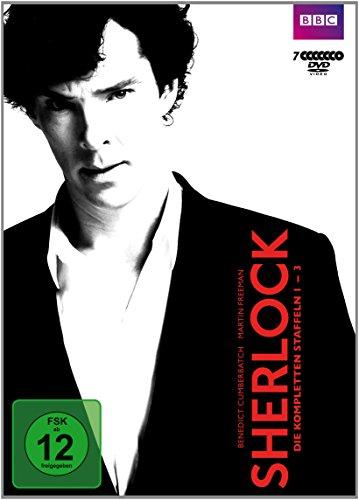 Sherlock - Staffel 1-3 [7 DVDs]