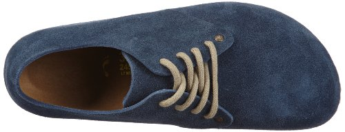 pictures of Birkenstock Shoes ''Maine'' from Leather in Denim Navy 43.0 EU N