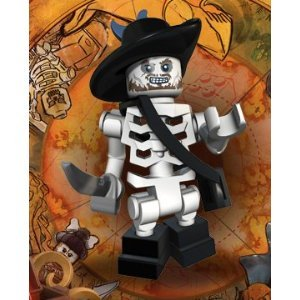 Skeleton Barbossa Lego Pirates of the Caribbean Minifigure