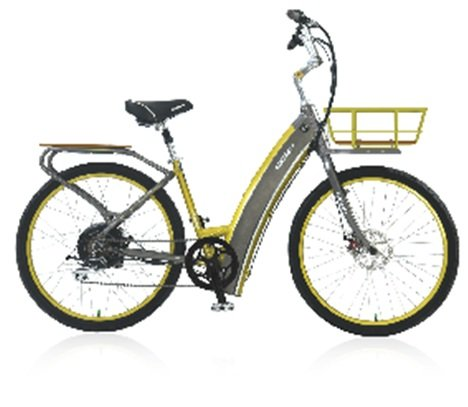 E3 Metro Step-thru - Electric Bicycles (Dark Grey)