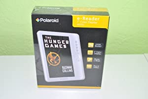 "Polaroid e-Reader 7"" Color Display: Books, Music, Pictures, Videos, 2gb"